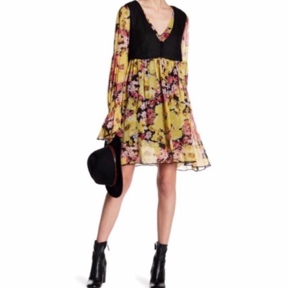Free People Dresses & Skirts - Free People Alice Mini Vest Floral Dress